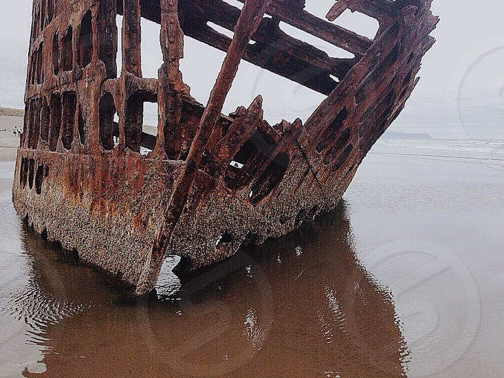 Ship shipwreck  photo