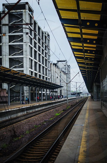 Train station Kiev Ukraine  photo