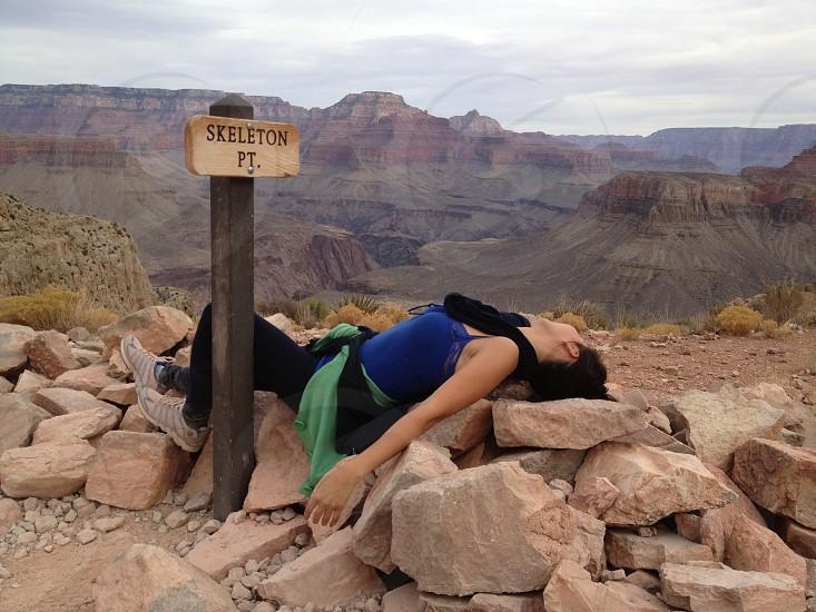 Skeleton Point Grand Canyon photo