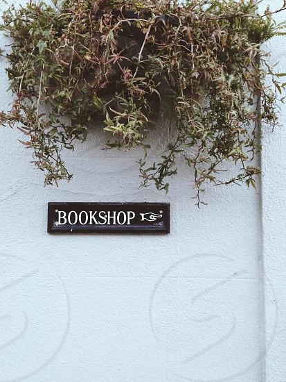 Bookshop sign photo