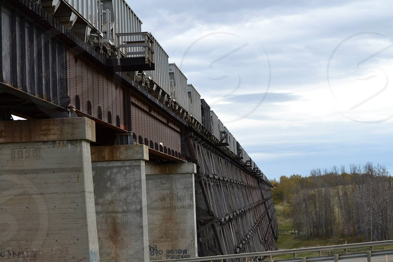 Rochfort Bridge Train Trestle photo