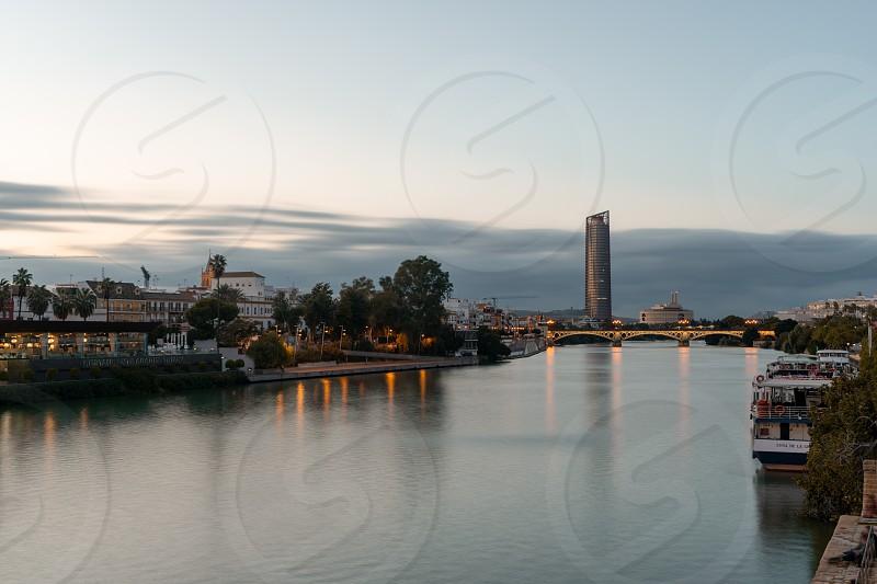 View from San Telmo's Bridge photo