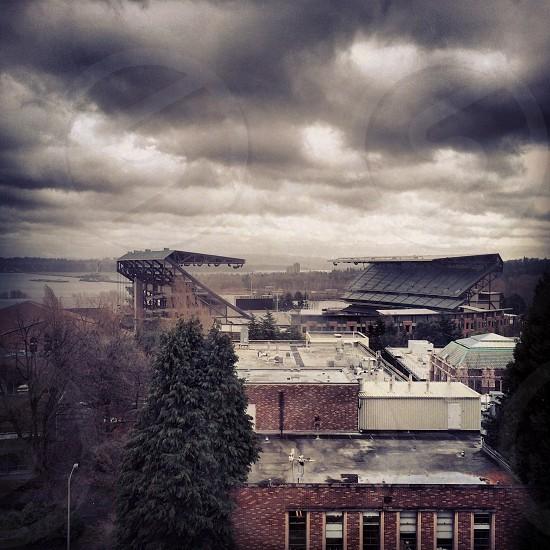 gloomy cloud photo