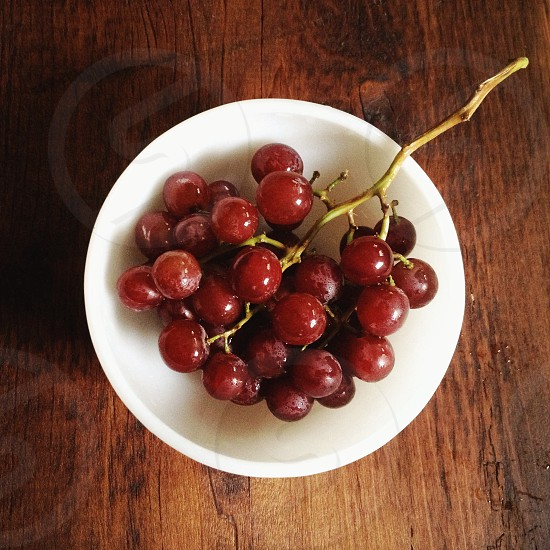 red grape fruit photo