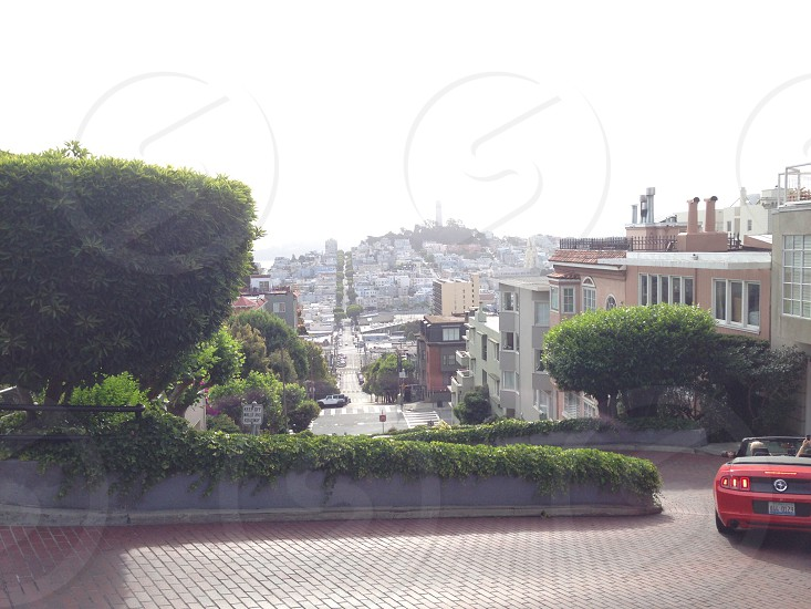 Lombard st by morning photo