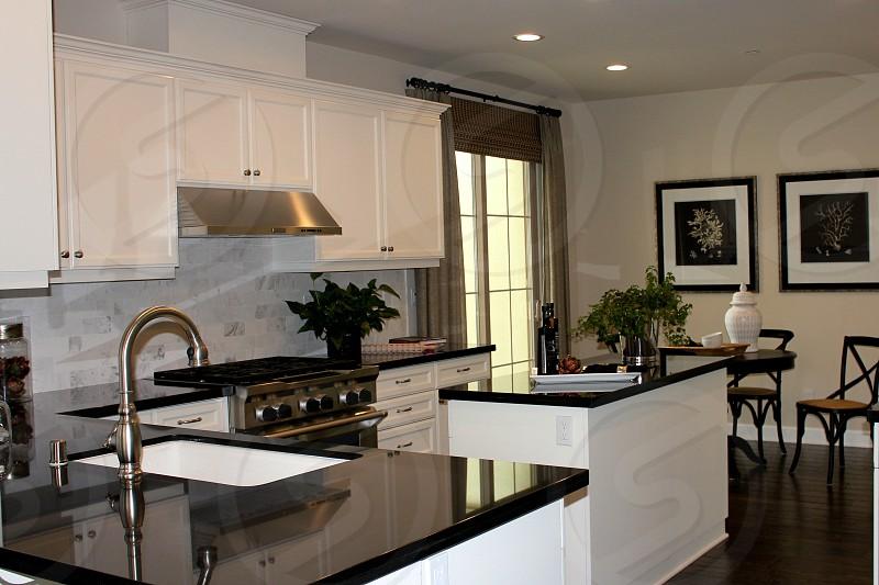 Kitchen sink home house photo