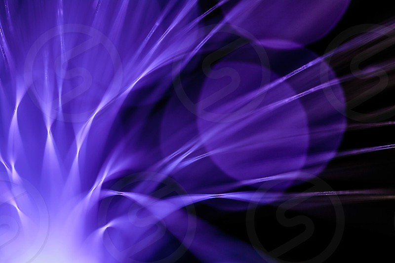 Fibre Optic Abstract photo