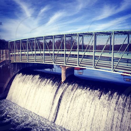 Dam River Milford Michigan photo