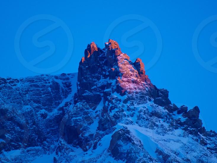 Mountain france. Valmorel photo