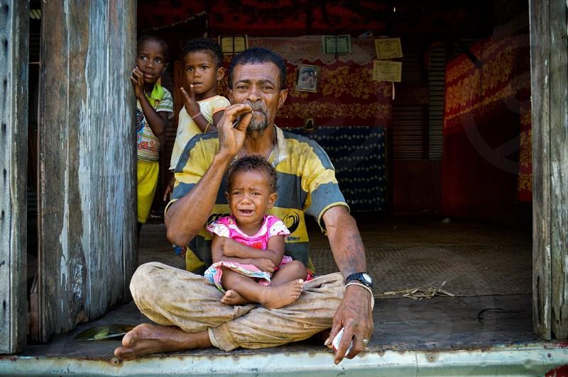 Fijian patriarch photo