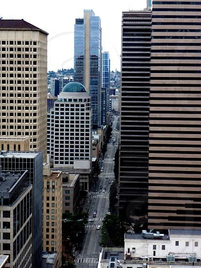 Downtown Seattle Washington. photo