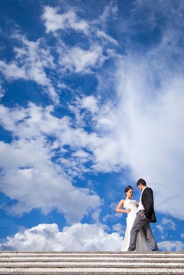 Wedding weddings sky wedding day photo