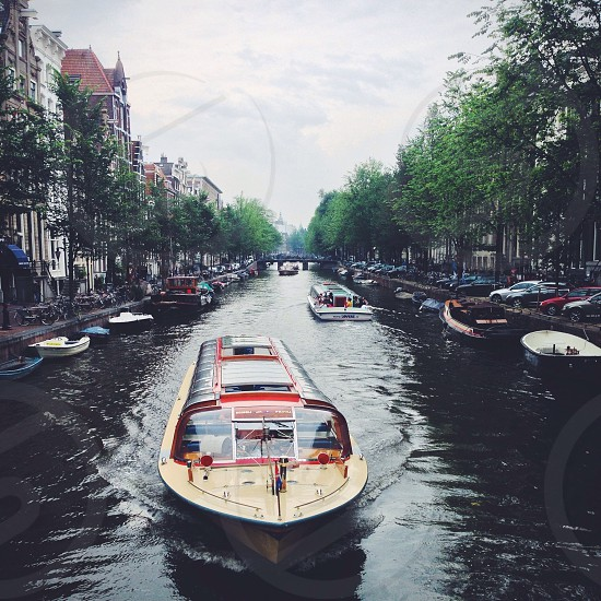 Amsterdam canal.  photo