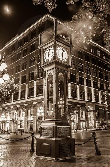 Steam clock photo