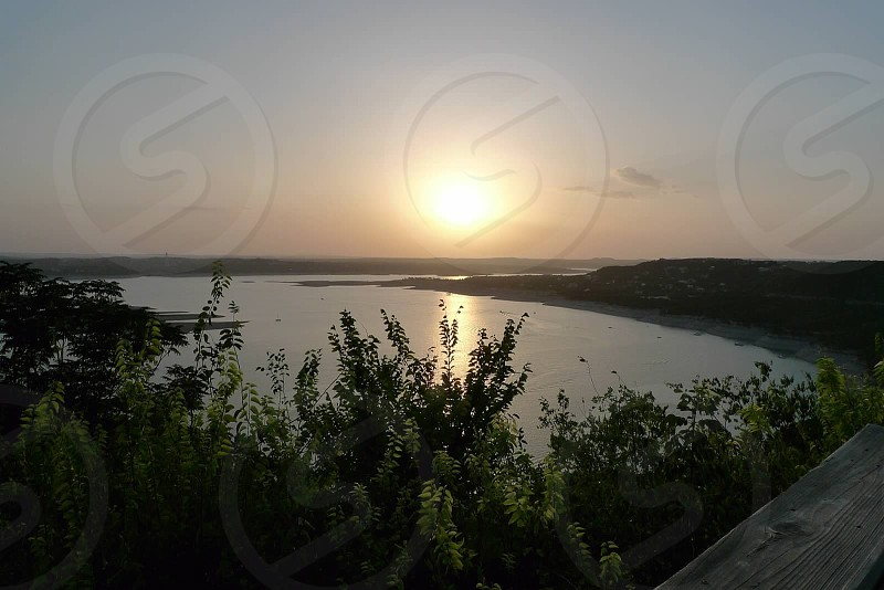 Austin Lake Sunset photo