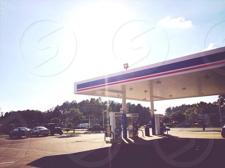 gasoline refilling station  photo