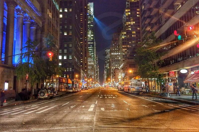 City of lightsNew York photo