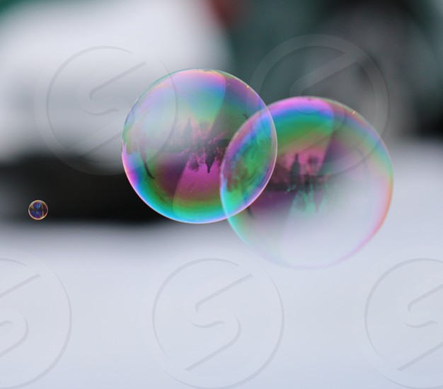 Rainbow Bubbles photo
