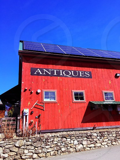 Antique store New York solar roof  photo