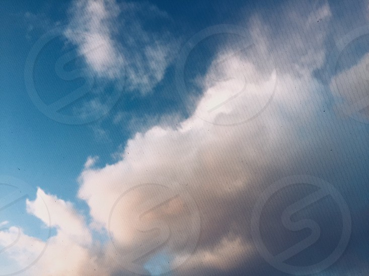 Clouds sky photo