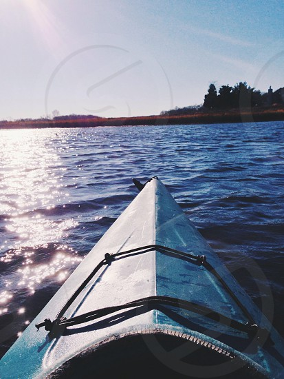 Kayaking in Rhode Island  photo