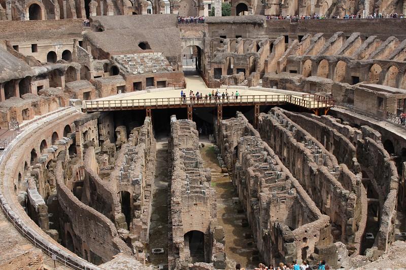 Rome  Italy  Colosseum photo