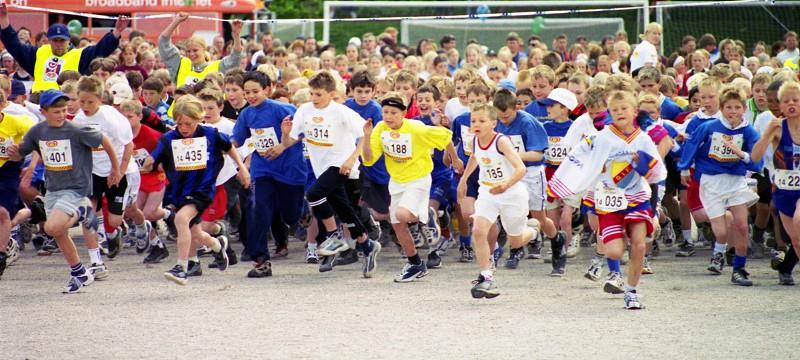 Marathon at 10 years old photo