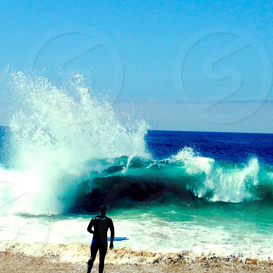 The Wedge spitting vertically photo