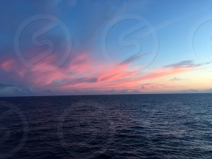 Bermuda sunset. photo