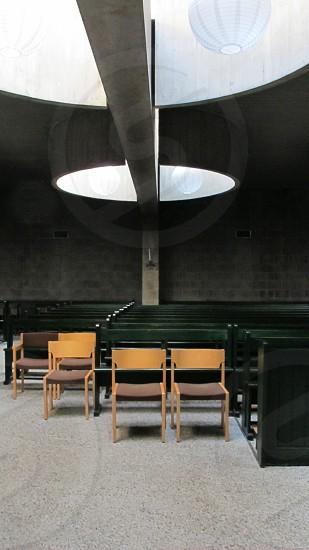 CHURCH DEN HAAG ALDO VAN EYCK PASTOOR VAN ARSKERK photo