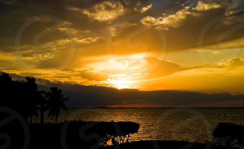 Sunset Key Largo Florida Florida Keys water landscape paradise photo