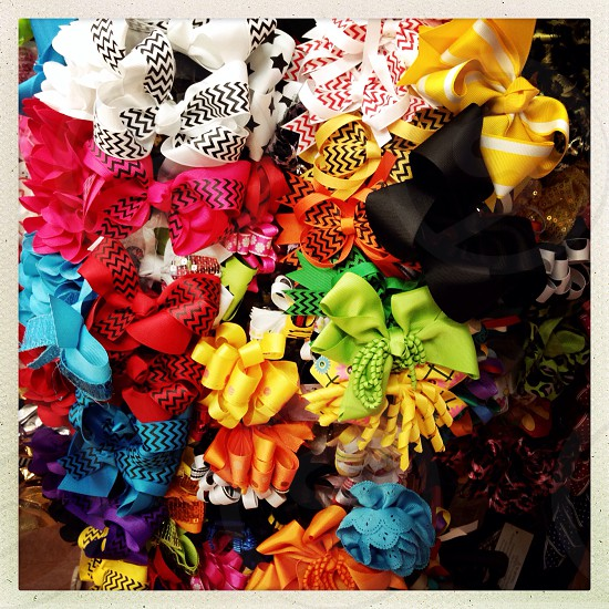 Colorful Girls Hairbands photo