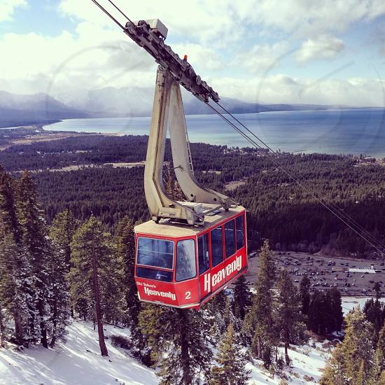 Ski Heavenly South Lake Tahoe CA photo