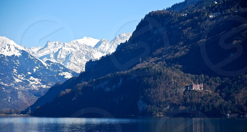 Lakes in Switzerland photo