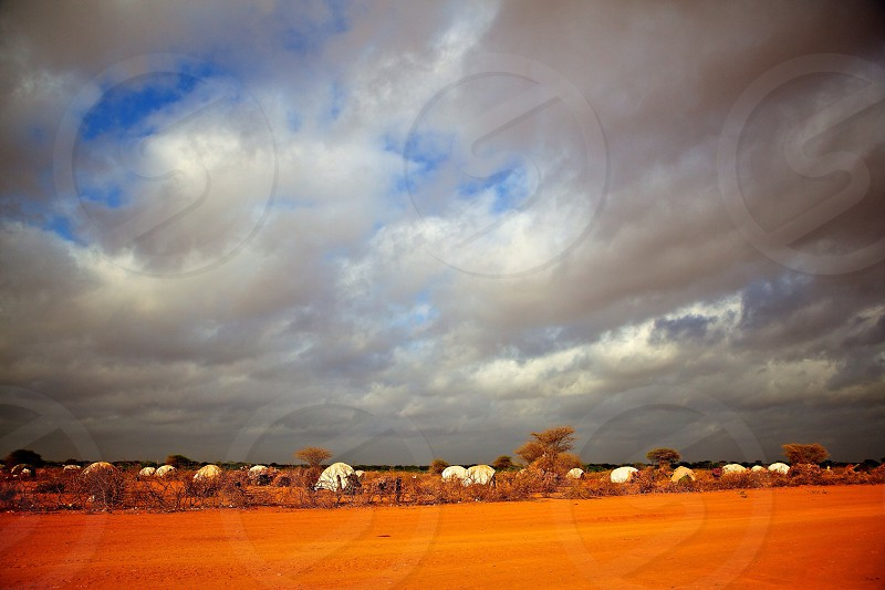 view of a cloudy sky  photo
