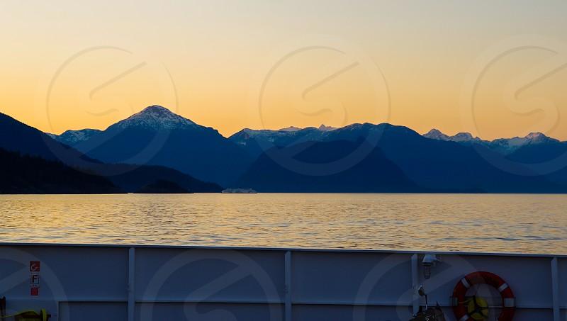 Sunset cruise from Bowen Island photo
