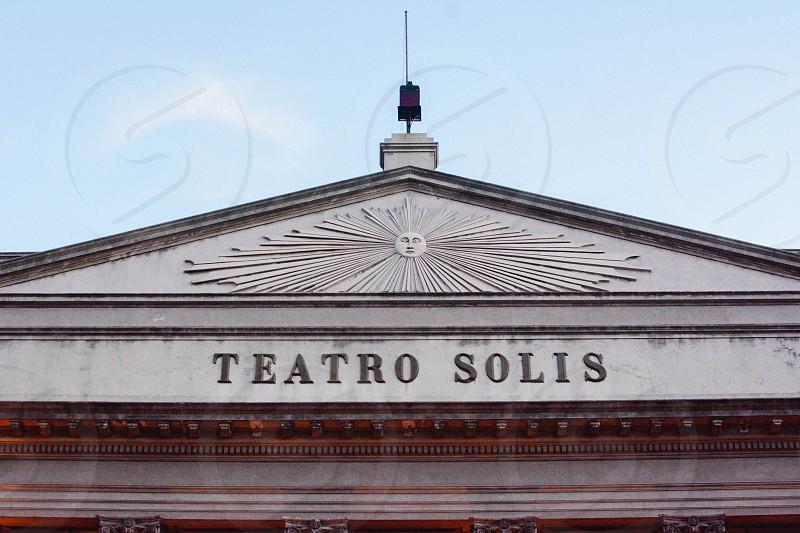uruguay montevideo theater art photo