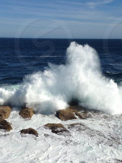ocean waves view photo