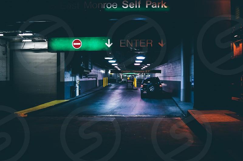 enter sign photo