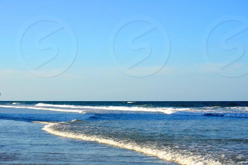 A calm day at the beach. photo