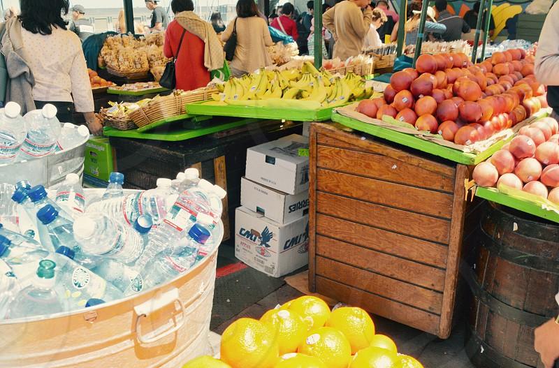 Fresh market at San Francisco Bay Area  photo