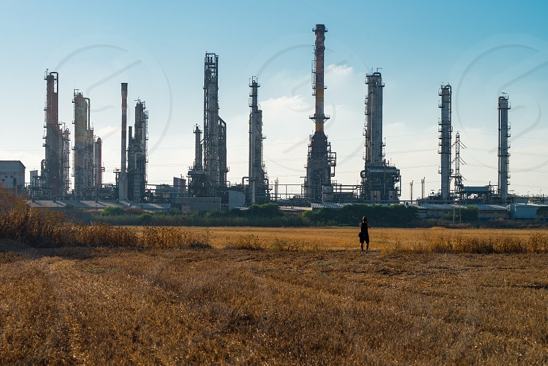 Oil Distillery plant photo