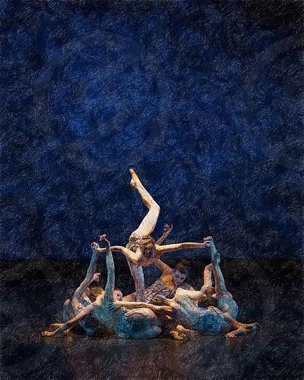 Dancers Impressionism photo