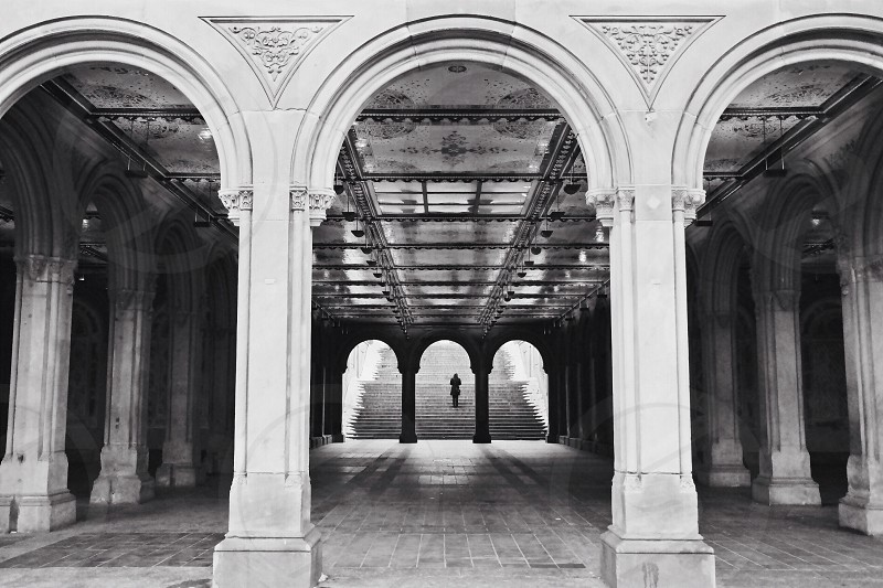 Bethesda Mall Central Park NYC photo