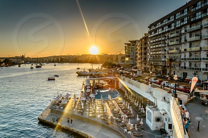 Natural Light Rays - Sliema Malta photo