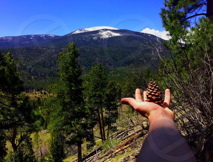 Colorado mountains hike  photo
