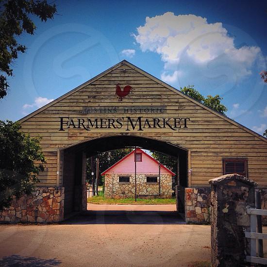 Original Austin Texas Farmers Market #landmark  photo