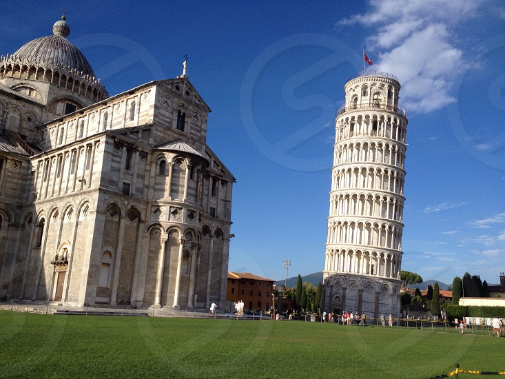 Field of miracles Pisa Italy photo