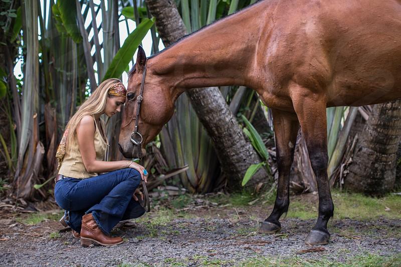 horsefashionbondinginteractionlovetrustequestriantropicsriding photo