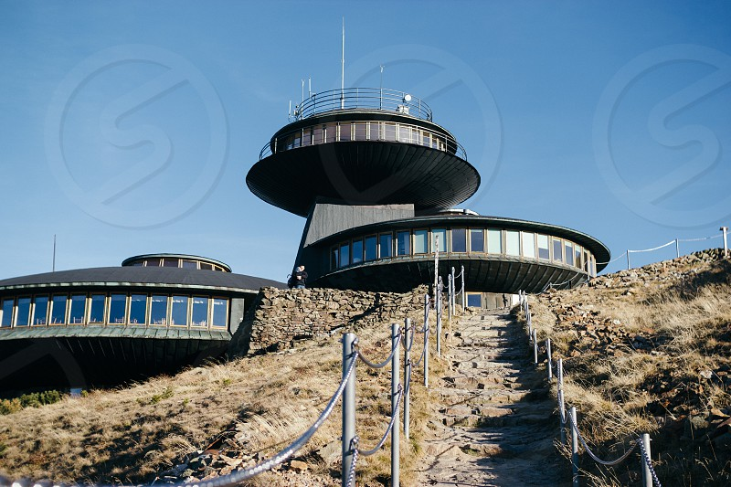 Observatory on top of the Sniezka mountain in Karpacz photo